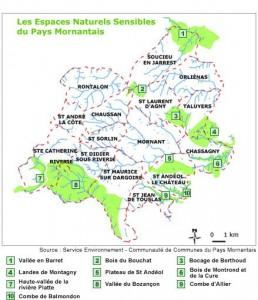 Paysages des communes du Pays Mornantais